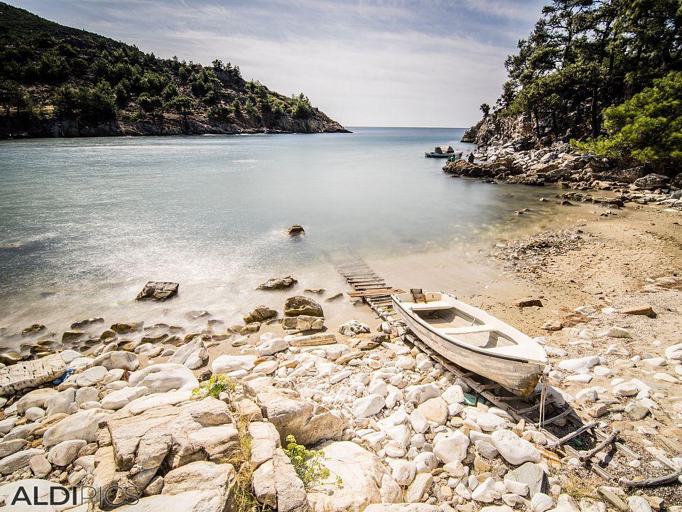 A little cove Agios Ioannis