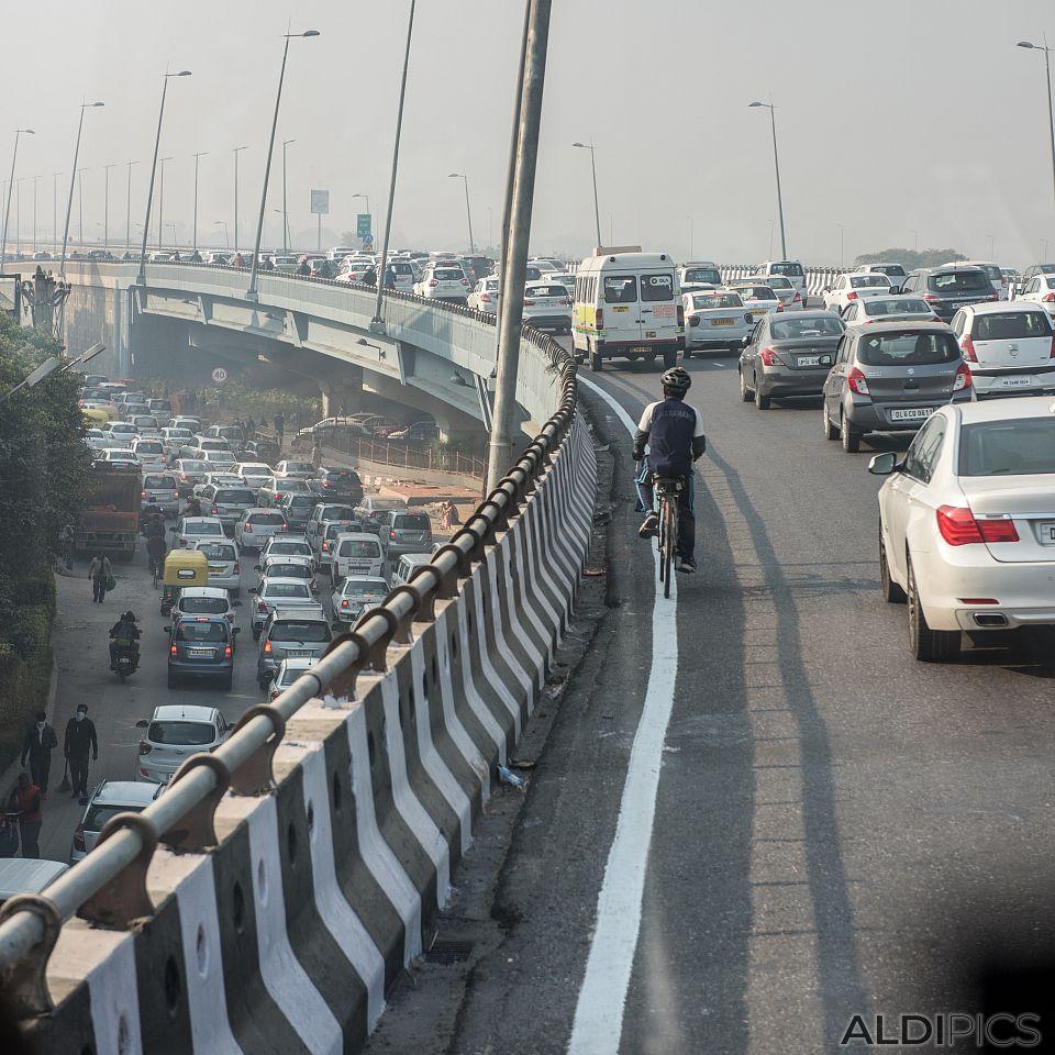 Трафика на Делхи
