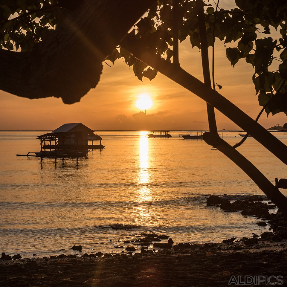 Pemuteran's sunrise