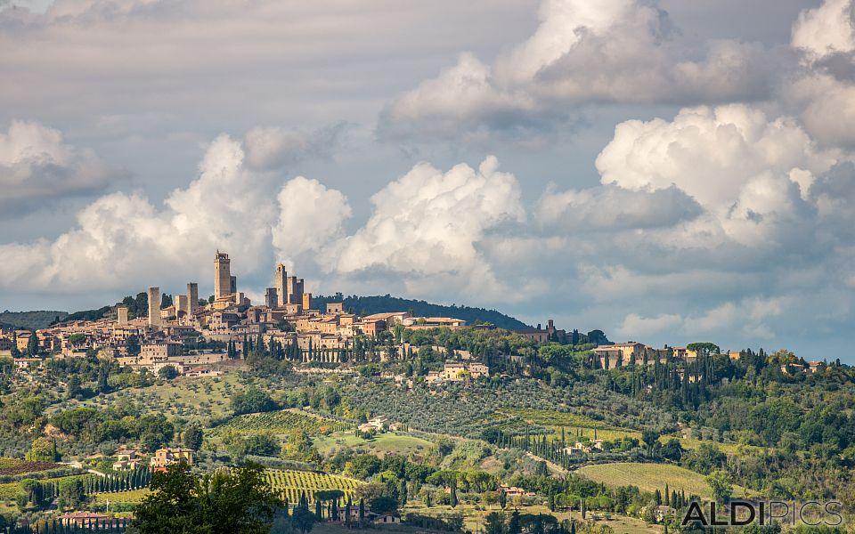 Again in Tuscany