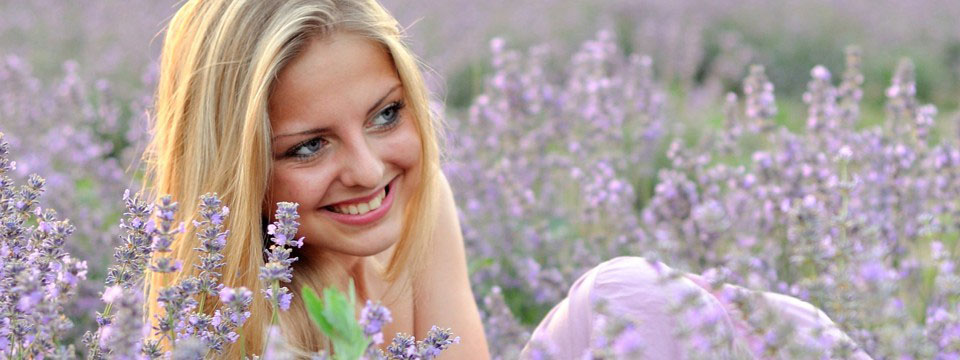 Pickers of lavender 